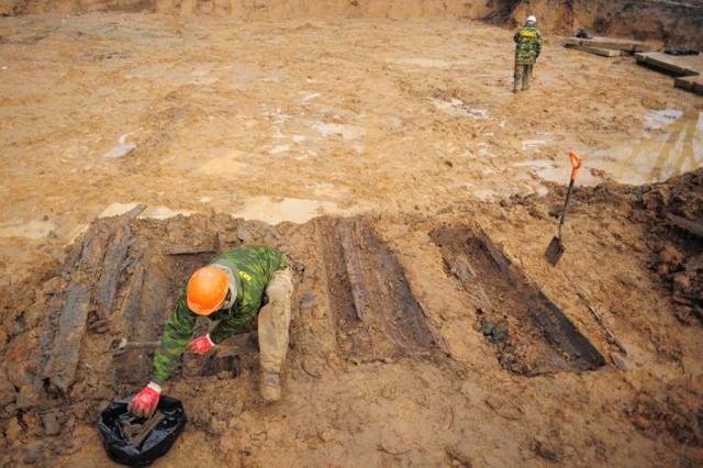 ВКалининграде настройплощадке найдено гражданское захоронение