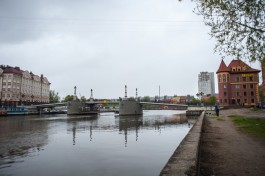 В ночь на понедельник в Калининграде разведут два моста