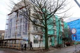 Верхние этажи дома на Ленинском проспекте затопило во время капитального ремонта