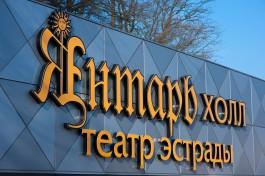 Власти нашли подрядчика для ремонта ограждения «Янтарь-холла» за 52,9 млн рублей