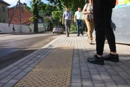 Правительство региона выделит «серьёзные средства» на ремонт тротуаров в Калининграде