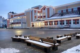 «Открыли без детей»: как выглядит новая школа на улице Артиллерийской в Калининграде