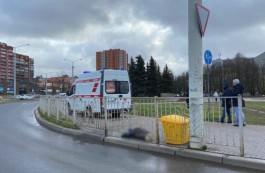 На площади Василевского в Калининграде умерла пожилая женщина