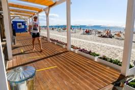 Пляжи Янтарного снова получили награды «Голубой флаг»