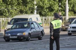 На улице 9 Апреля «Митсубиси» врезался в автобус Калининград — Клайпеда