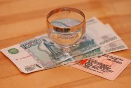 СК: Пьяный житель Советска пытался дать взятку инспектору ГИБДД
