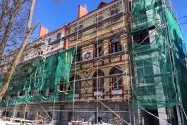 Фонд капремонта начал сбор средств для восстановления скульптуры на историческом доме в Калининграде