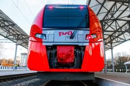 В Калининградскую область прибыл шестой электропоезд «Ласточка»