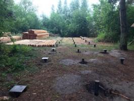На Куршской косе начали строить две обзорные площадки