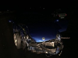 Двое детей пострадали при столкновении «Хёндая» и «Лады» на трассе Калининград — Балтийск