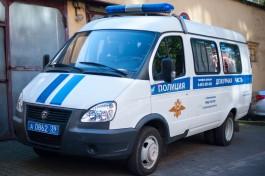 Полицейские задержали подозреваемого в поджоге квартиры в многоэтажном доме в Советске