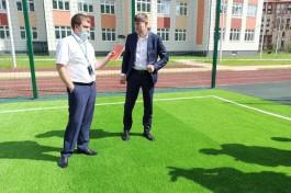 Ерохин: В новой школе на Артиллерийской будет на 400-500 человек больше, чем планировалось