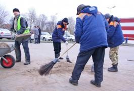 Власти Калининграда похвалили «умных дворников» за уборку в новогодние каникулы