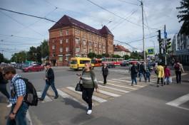 На отремонтированных по БКАД дорогах в Калининграде нашли дефекты