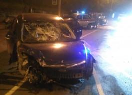 «Оторвало колёса»: на проспекте Калинина в Калининграде произошла серьёзная авария
