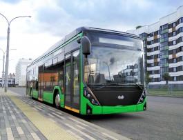 Калининградские чиновники протестировали белорусские электробусы в Минске