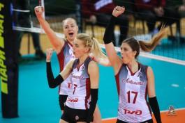 «Локомотив» победил в Калининграде «Уралочку» и возглавил турнирную таблицу