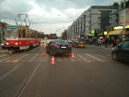 В центре Калининграда «Фольксваген» сбил девятилетнего мальчика на переходе