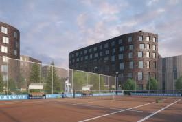 На территории стадиона «Спартак» в Калининграде разрешили построить пять зданий