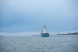 Материалы для нового инфекционного центра в Калининграде доставляют корабли Балтфлота