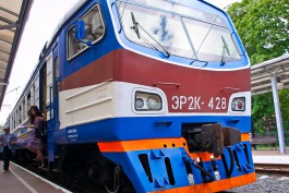 С четверга в Калининградской области назначат дополнительные поезда к морю