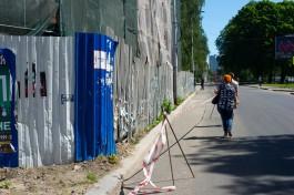 Из-за обрушения Кройц-аптеки часть улицы Фрунзе закрыли на два месяца