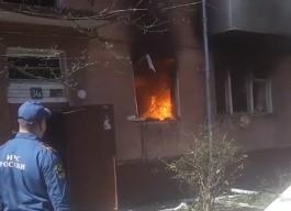 В квартире на улице Леонова в Калининграде взорвался газ
