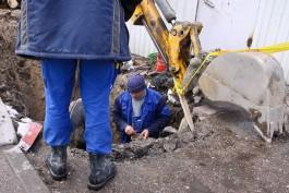 «Водоканал» устранил прорыв водопровода на Московском проспекте