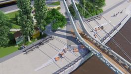 Для строительства пешеходного моста на остров Канта в Калининграде вырубят 19 деревьев