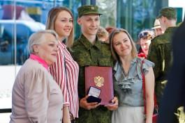 «Товарищи кремлёвцы»: десять калининградцев отправились служить в Президентский полк