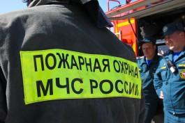 На улице Тамбовской в Калининграде сгорел «Шевроле»