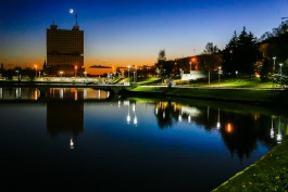 «Ночь. Озеро. Фонарь»: как выглядит набережная Нижнего пруда к концу благоустройства