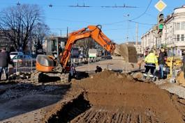 На следующей неделе планируют изменить схему движения на перекрестке Киевской и проспекта Калинина