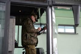 В Безледах задержали пьяного водителя автобуса, который ехал в Калининград