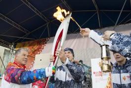 «Днём с огнём»: на Куршской косе и в Светлогорске завершилась олимпийская эстафета