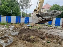 При строительстве Нахимовского училища в Калининграде нашли послание дембелей 1976 года