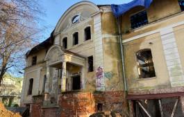 «Наследие Путиной»: у Верхнего озера в Калининграде начали восстанавливать немецкую виллу