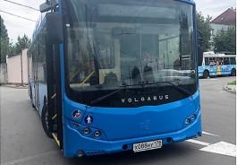 В Калининграде начали тестировать электробус «Волгабас»