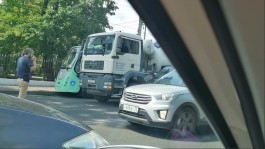 Из-за ДТП на пересечении Гвардейского проспекта и улицы Румянцева образовалась пробка
