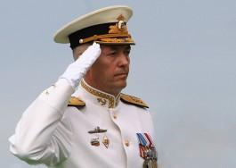 Александр Носатов покинул должность командующего Балтийским флотом