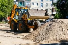 В Калининграде начались работы по благоустройству дворов