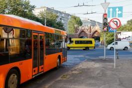 Калининградцы жалуются на неработающие кондиционеры в автобусах