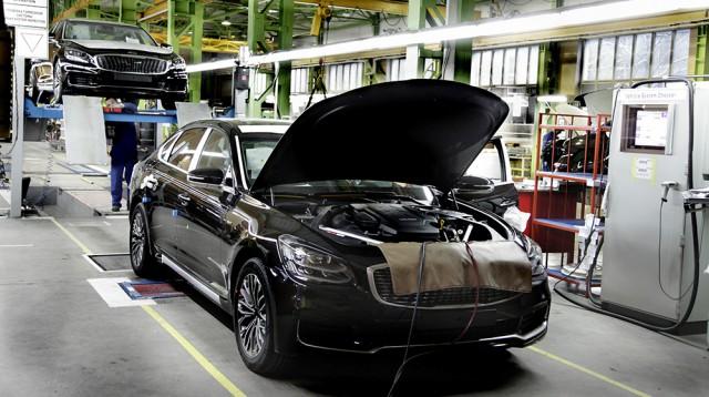 Калининградский «Автотор» начал выпускать новый седан Кия  K900