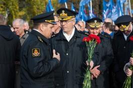 Путин присвоил звание адмирала командующему Балтфлотом Александру Носатову