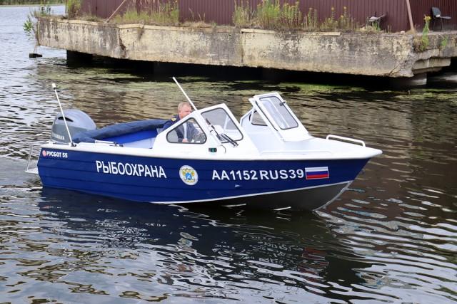 Инспектора рыбоохраны Калининградской области получили новые катера и автомобили