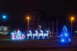 На праздничное оформление Калининграда к Новому году выделяют 7,6 млн рублей