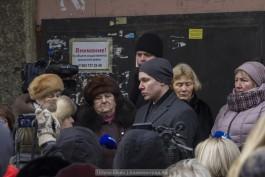 Алиханов: Нового здания на месте накренившегося дома на Московском проспекте не будет