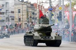 «В небе и на земле»: как прошёл парад в честь Дня Победы в Калининграде