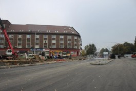 Перекрёсток у Высокого моста в Калининграде откроют на неделю позже срока