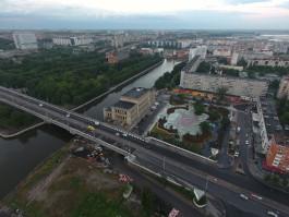 «Цветные узоры»: как выглядит Биржевой сквер в Калининграде с высоты птичьего полёта